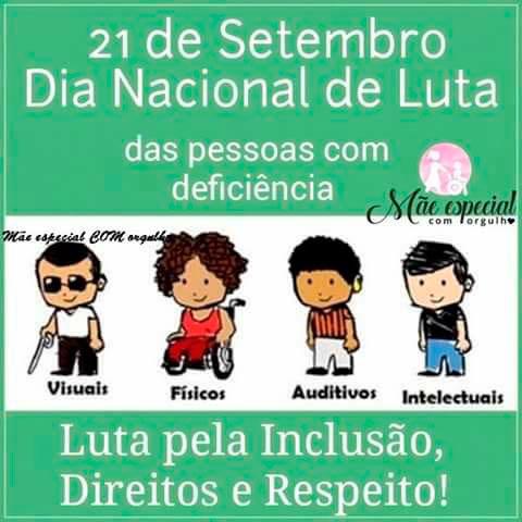 Chapa 5 Cau SP - Dia Nacional de Luta das pessoas com deficiência